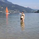 Mamma in Trentino ottavo mese